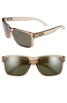 Men's Oakley 'Holbrook - Ink Collection' 55mm Sunglasses - Sepia/ Dark Grey