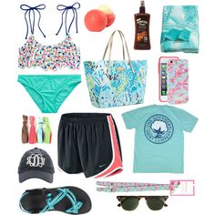 Perfect preppy pool day