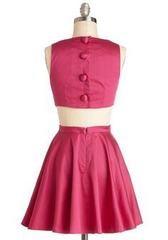 Classic Twist Dress in Magenta, #ModCloth