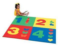 Children's Factory 1-2-3-4 Child Foam Activity Mat