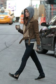 Kate Mara and Max Minghella Out in NYC