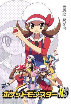 Tags: Anime, Pokémon, Kotone (Pokémon), Haruka (Pokémon), Hikari (Pokémon), Blue (Pokémon), Kris (Pokémon)
