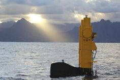 Azura™ wave energy device at the United States Navy's Wave Energy Test Site (WETS) making 20KW  near Kaneohe Bay, Oahu, Hawai'i