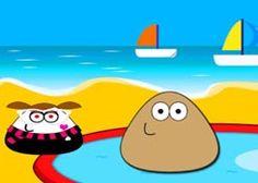 PouJuegos.com - Juego: Pou Kick Up - Jugar Juegos Gratis Online Flash
