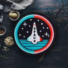 Space Shuttle Patch Free Shipping US by ForTheLoveOfPatch on Etsy