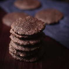 Sunflower Seed Chocolate Cookies (Vegan, Gluten-free, Soy-free & Nut-free)