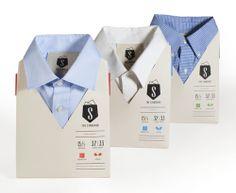 Met overhemdverpakkingen van The Standard blijven winkelschappen keurig georganiseerd. Mocht de klant na het passen besluiten om het overhemd niet aan te schaffen, zit het kledingstuk zo weer in de verpakking dankzij aanwijzingen aan de binnenkant.