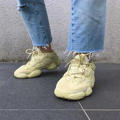 "1f83b2731 adidas Yeezy 500 ""Super Moon Yellow"" Style Code  DB2966 Release Date  June"