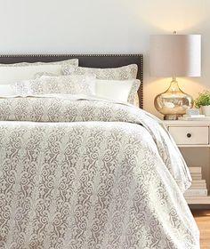 Riley Metallic Bedding Set - Duvet Sets - Bedding Sets   HomeDecorators.com
