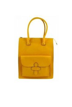 Decadent Working bag yellow