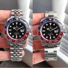 Pepsi on jubilee or oyster? Rolex Watches For Men, Luxury Watches, Sport Chic, Hugo Boss, Rolex Diver, Rolex Daytona Gold, Festina, Submariner Date, Rolex Gmt Master