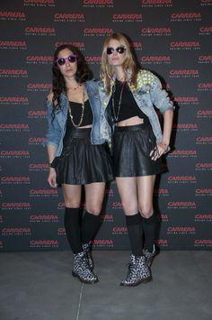 Las Dj's Critina Tosio & Baby Kat amenizaron la velada. Carrera Ignition Night #2. Matadero de Madrid. 20 de marzo'13.  Foto: Globally Punk, Style, Fashion, Racing, Events, Photos, Swag, Moda, Fashion Styles
