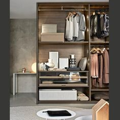 14 Walk In Closet Designs For Luxury Homes Walk In Closet Small, Walk In Closet Design, Wardrobe Design, Built In Wardrobe, Closet Designs, Build In Closet, Walk Through Closet, Pax Wardrobe, Dressing Room Mirror