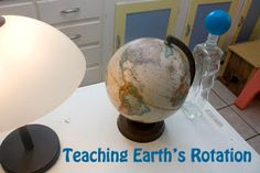 Teaching about the earth's rotation