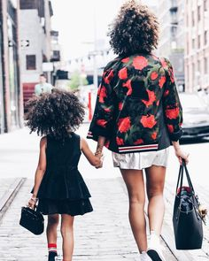 Mother and daughter wearing coach for Mother's day campaign