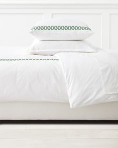 Savoy Links Embroidered Duvet CoverSavoy Links Embroidered Duvet Cover