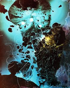 """Beautiful pictures created by manipulating light sensitive paper and other photographic materials, without the use of a camera (also known as photograms),by Russian-born artist Tatiana Gulenkina. Check out more images from """"Things Merging And Falling Apart"""" below.    … Continue reading →"""