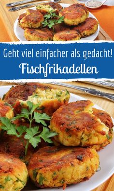 Fischfrikadellen - einfaches Rezept - Fisch-Rezepte - Best Picture For dinner recipes with ground beef For Your Taste You are looking for something, an - Easy Meatloaf, Meatloaf Recipes, Vegetarian Recipes, Healthy Recipes, Evening Meals, Whole 30, Salmon Recipes, Food Items, Ground Beef