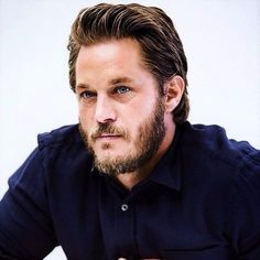 Actor Travis Fimmel is a former Calvin Klein model. He made a breakthrough with Vikings.