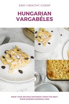 Here is the most easier traditional Hungarian Dessert with just 5 ingredients. Easy | 5 Ingredients | Hungarian Dessert | Delicious | Sweet Noodle Pie Hungarian Desserts, Sour Cherry, Easy 5, Vanilla Sugar, Your Recipe, Vegetarian Cheese, Raisin, Noodles, Helpful Hints