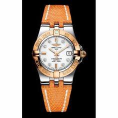 http://www.horloger-paris.com/fr/2771-breitling Breitling Galactic 30 Acier et Or Rose 18Ct Le garde-temps à quartz Breitling Galactic 30 est un splendide modèle pour femme proposant la complication date à 3 heures....