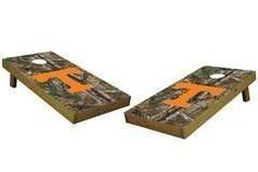 Tennessee Volunteers Single Cornhole Board - Realtree Xtra® Camo