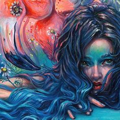 """Art of Tanya Shatseva """"Details of symphony Here's a little bit of background for you - this painting was dedicated to…"""" Pastel Art, Oeuvre D'art, Dark Art, Female Art, Cute Art, Les Oeuvres, Art Inspo, Art Girl, New Art"""