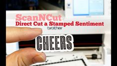 YouTube Brother Scanncut2, Scan N Cut, Distinguish Between, Brother Scan And Cut, Crafting, Tutorials, Stamp, Videos, Youtube