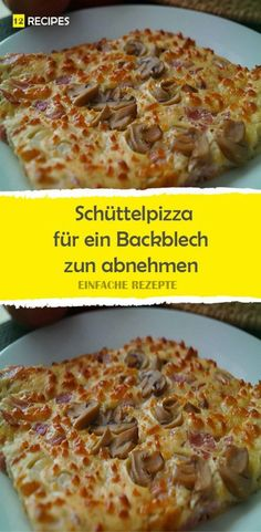 Shaking pizza for a baking sheet to lose weight 😍 😍 😍 - rezepte - Pizza Rezepte Baking Sheet, Easy Workouts, Soul Food, Macaroni And Cheese, Low Carb, Brunch, Food And Drink, Lose Weight, Favorite Recipes