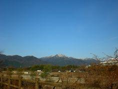 菰野町菰野地区 釈迦ヶ岳  H24年12月14日撮影