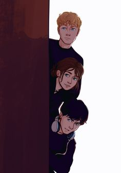Kit Herondale, Livia Blackthorn, and Ty Blackthorn