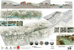 The Madrid Río model is being copied by other cities to regenerate, not always well considered, rivers. Landscape Architecture, Landscape Design, River Park, File Image, Inspirational Posters, Landscape Drawings, Design Competitions, Urban Planning, Urban Design