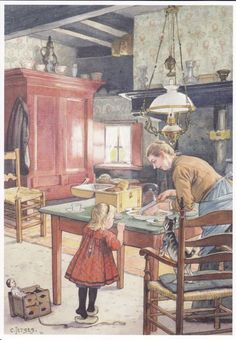 Ansicht en Postkaarten Verzameling. Met o.a. tekeningen van Cornelis Jetses. Aap Noot Mies en Ot en Sien. with a doll