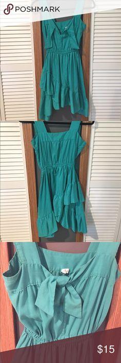 Green/aqua dress Vintage, green/aqua color dress , size 3-4 Dresses Mini