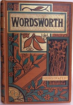 The Poetical Works of William Wordsworth, London: George Routledge and Sons 1880's    Beautiful Antique Books
