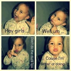 Duck Lips  - funny pictures #funnypictures