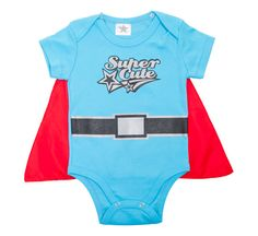 Cool Bamboo super hero babygro blue