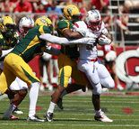 #college football Rutgers Football: Seven true freshmen see first college action in 38-0 victory