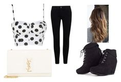 """""""Untitled #70"""" by xxcupcakesxx ❤ liked on Polyvore featuring Yves Saint Laurent"""