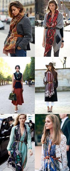 exPress-o: Autumn Style Tweak: Belted Scarves