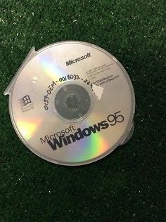 Microsoft-Windows-95-CD-disk-disc-Only-plus-Key-code