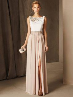 c30ce4ef1c2f ... Simple Formal Party Dresses - Fashion. Vestidos Elegantes de Fiesta  ▷Cortes y Estilos para Escoger