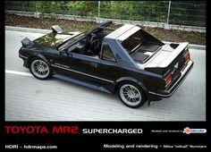 ArtStation - Toyota MR2 AW11, Miika Nurmiaro