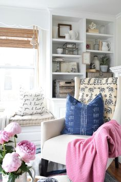 Summer Home Tour and Family Room