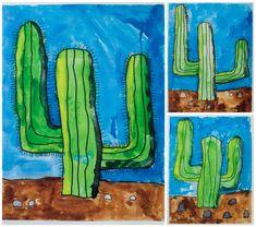 cactus art Collage