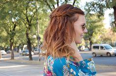 Braids en un Hippie Chic Hairstyle by Cerini
