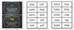 Verb Tenses - pinned by @PediaStaff – Please Visit ht.ly/63sNtfor all our pediatric therapy pins