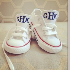 Personalized Kids Converse Chuck Taylor from BabyBox on OpenSky