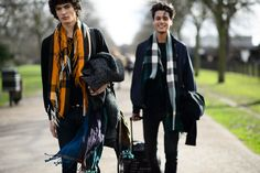 On the Streets of London Fashion Week Fall 2015 - London Fashion Week Fall 2015 Street Style Day 4