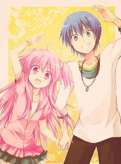Yui and Hinata!